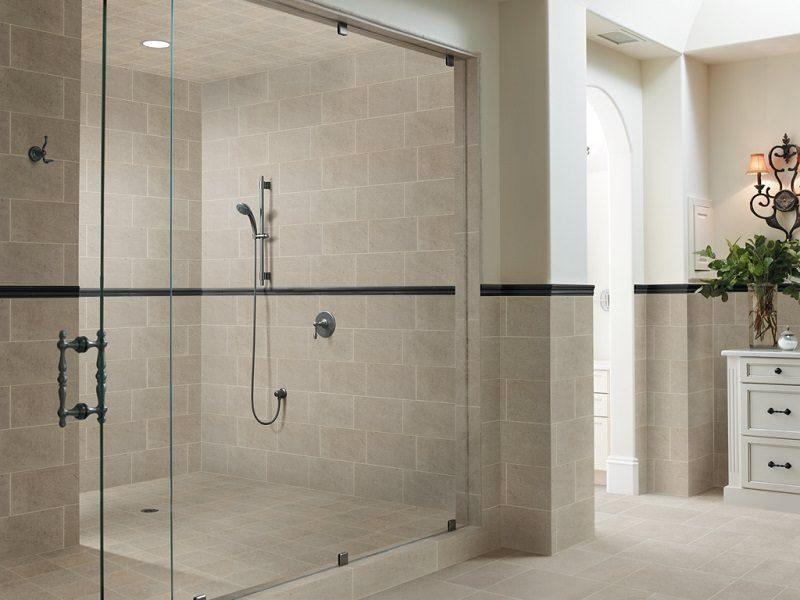 The 13 Different Types Of Bathroom Floor Tiles Pros And Cons Shower Sliding Glass Door Shower Wall Tile Bathroom Wall Tile