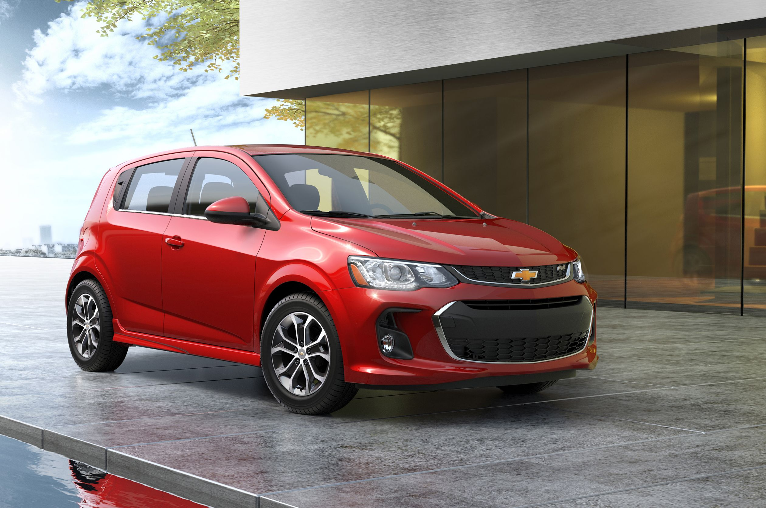 Refreshed 2017 Chevrolet Sonic Debuts At 2016 New York Auto Show