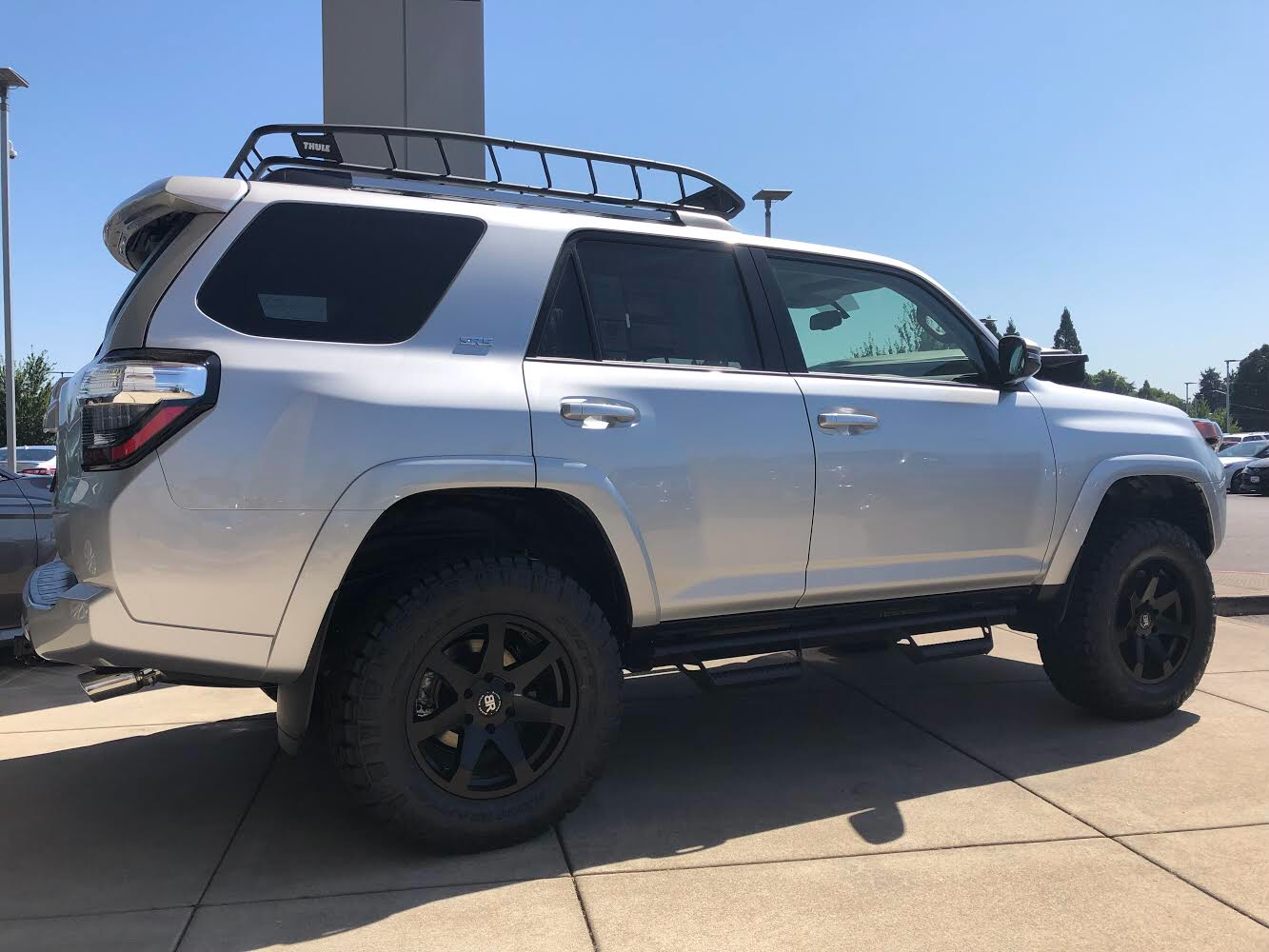 2019 Toyota 4runner With Black Rhino Mozambique Wheels 2019 Toyota 4runner Toyota4runner Blackrhino Wheels Rim Toyota 4runner Black Rhino Wheels 4runner