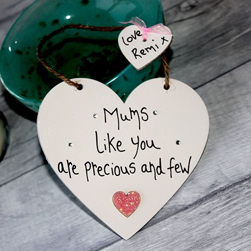 Mums Like You Are Precious And Few Hanging Heart Mothers Day