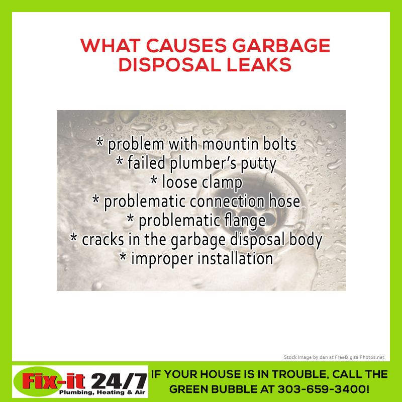 Is Your Garbage Disposal Leaking? Here Are Some Of The