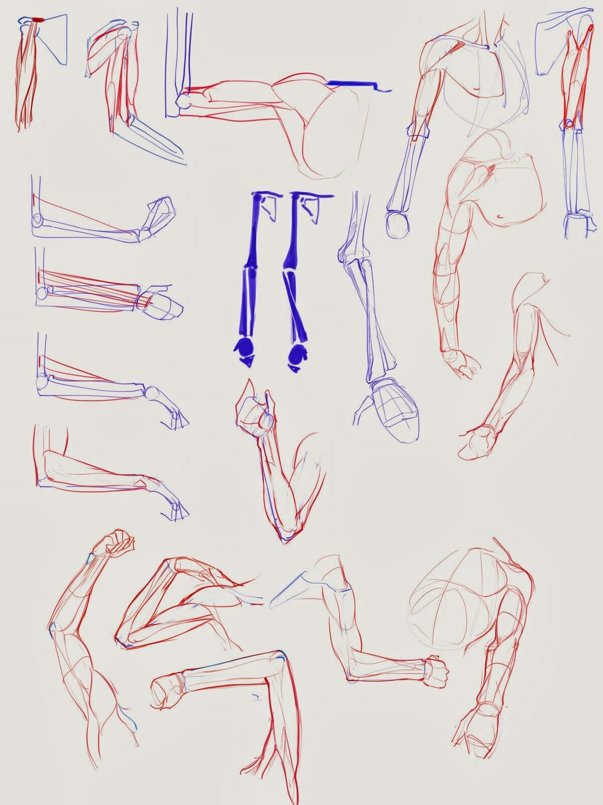 Аниме картинки руки позы