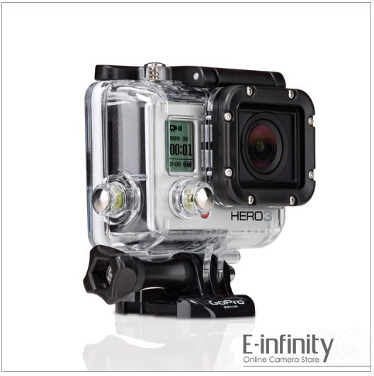GoPro HD HERO3 Silver Edition Digital Camera | Our Cameras ...