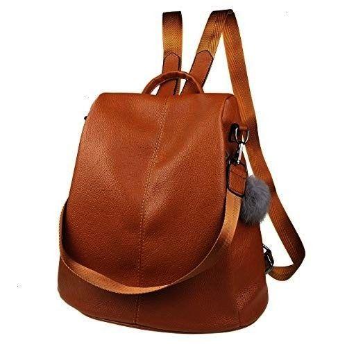 Backpack Purse Waterproof Leather Antitheft Fashion Casual Lightweight Travel  Nevenka Women Backpack Purse Waterproof Leather Antitheft Fashion Casual Lightweight Travel...