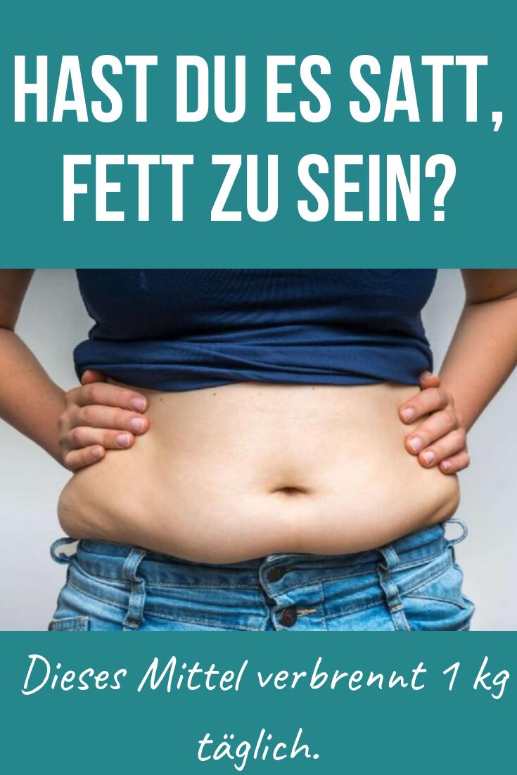 Diät, um 1 Kilo täglich zu verlieren