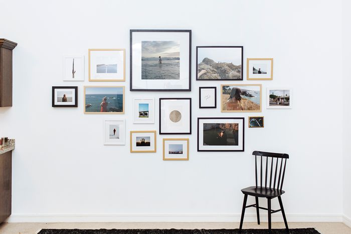 Captivating How To Hang A Gallery Wall The Right Way