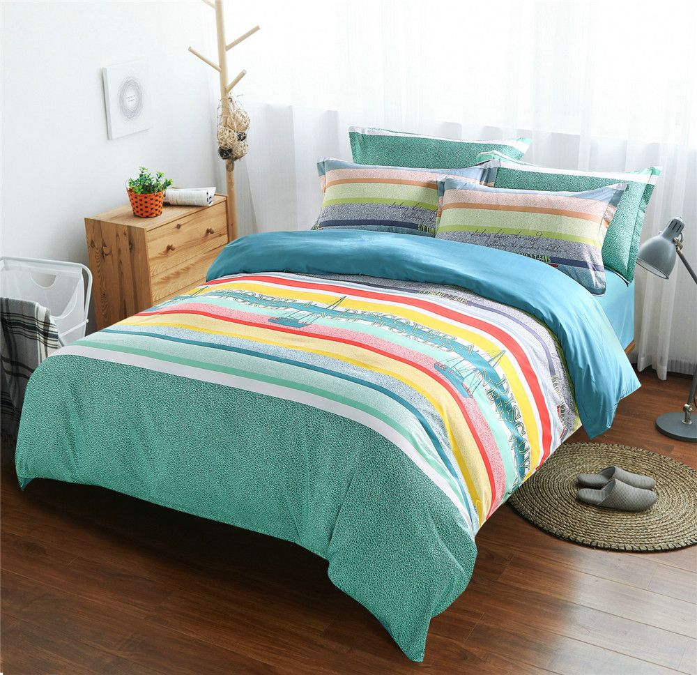 large comforter ocean designs waves bed toddler blue carousel