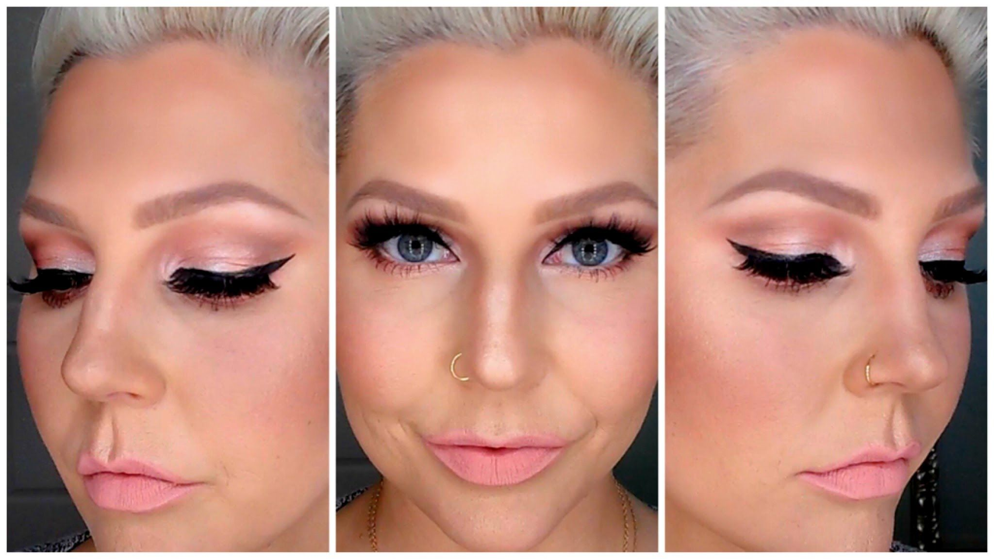 Eyebrow Tutorial How To Fill In Blonde Thin Brows Random