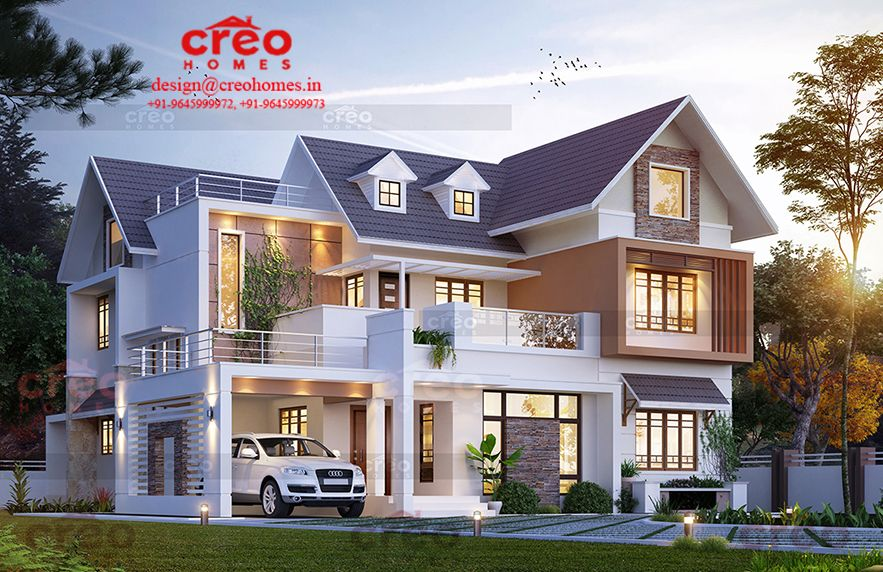 We Providing Total Infrastructure Design Solutions With High End Technology And Software And Fac Kerala House Design Duplex House Design Bungalow House Design