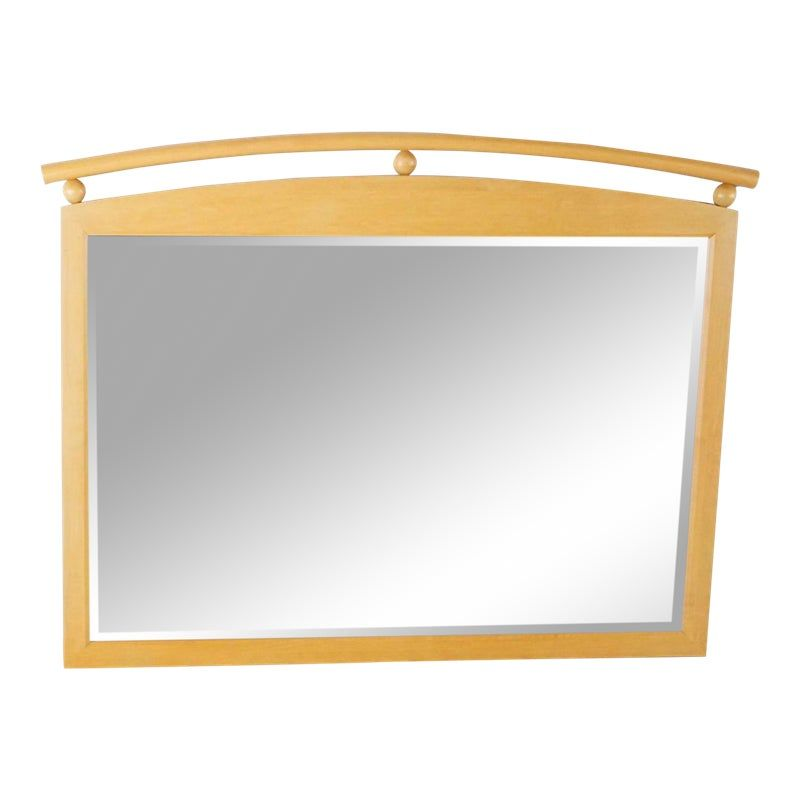 Ethan Allen American Dimensions Wood Framed Mirror Spiegel