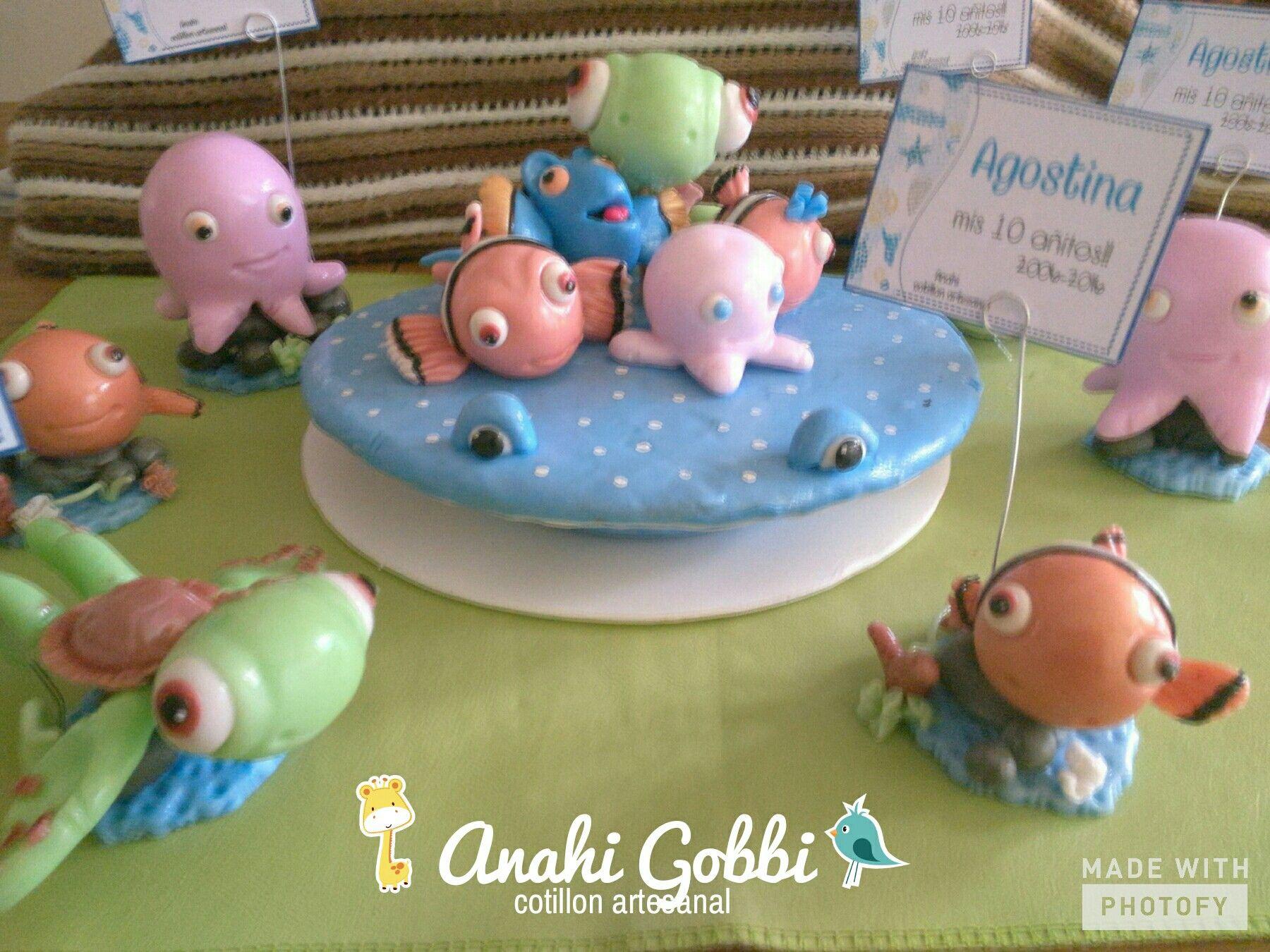 Increíble Uñas Buscando A Nemo Embellecimiento - Ideas Para Pintar ...