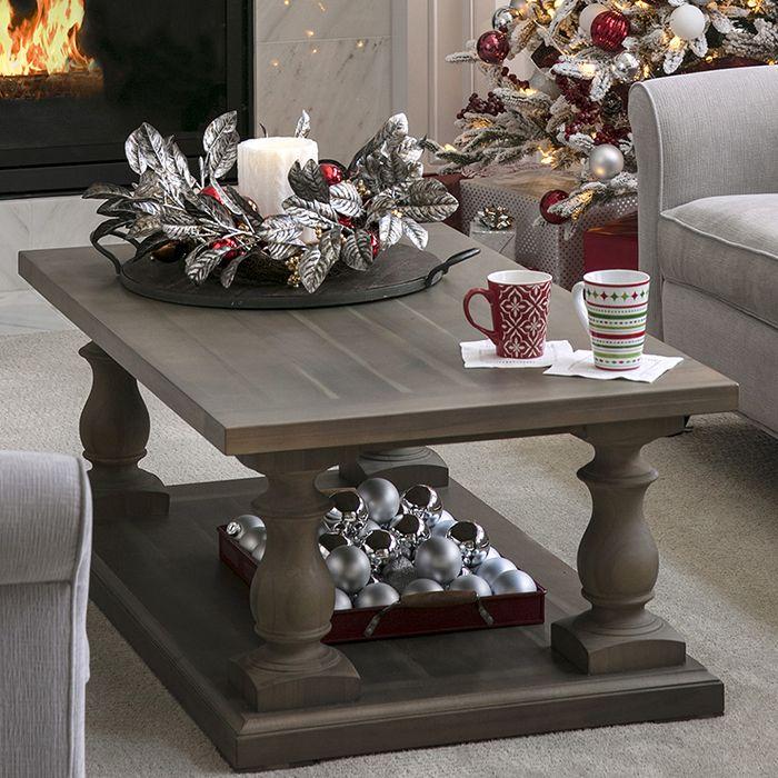 Open Plan Living Space Holiday Decor Ideas Ideas De Decoracion De Navidad Decoracion Navidad Adornos De Navidad