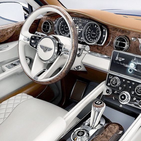 Bentley Is Undoubtedly A Wow Car. Inside And Outside
