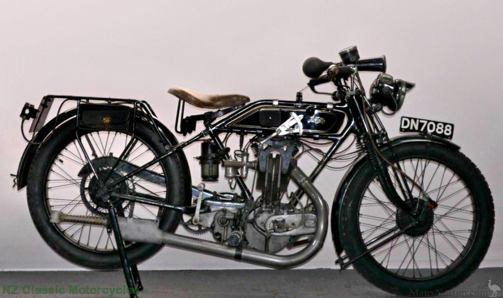 Ajs 1923 Model H Big Port Vintage British Motorcycles Classic Motorcycles Classic Bikes Vintage Bikes