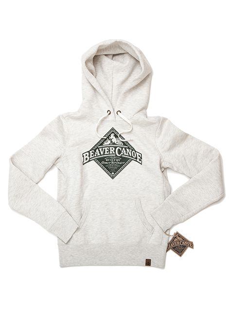 be9abce3e85aca Beaver Canoe for Target. Women s Long Sleeve Hoodie. Available in Grey