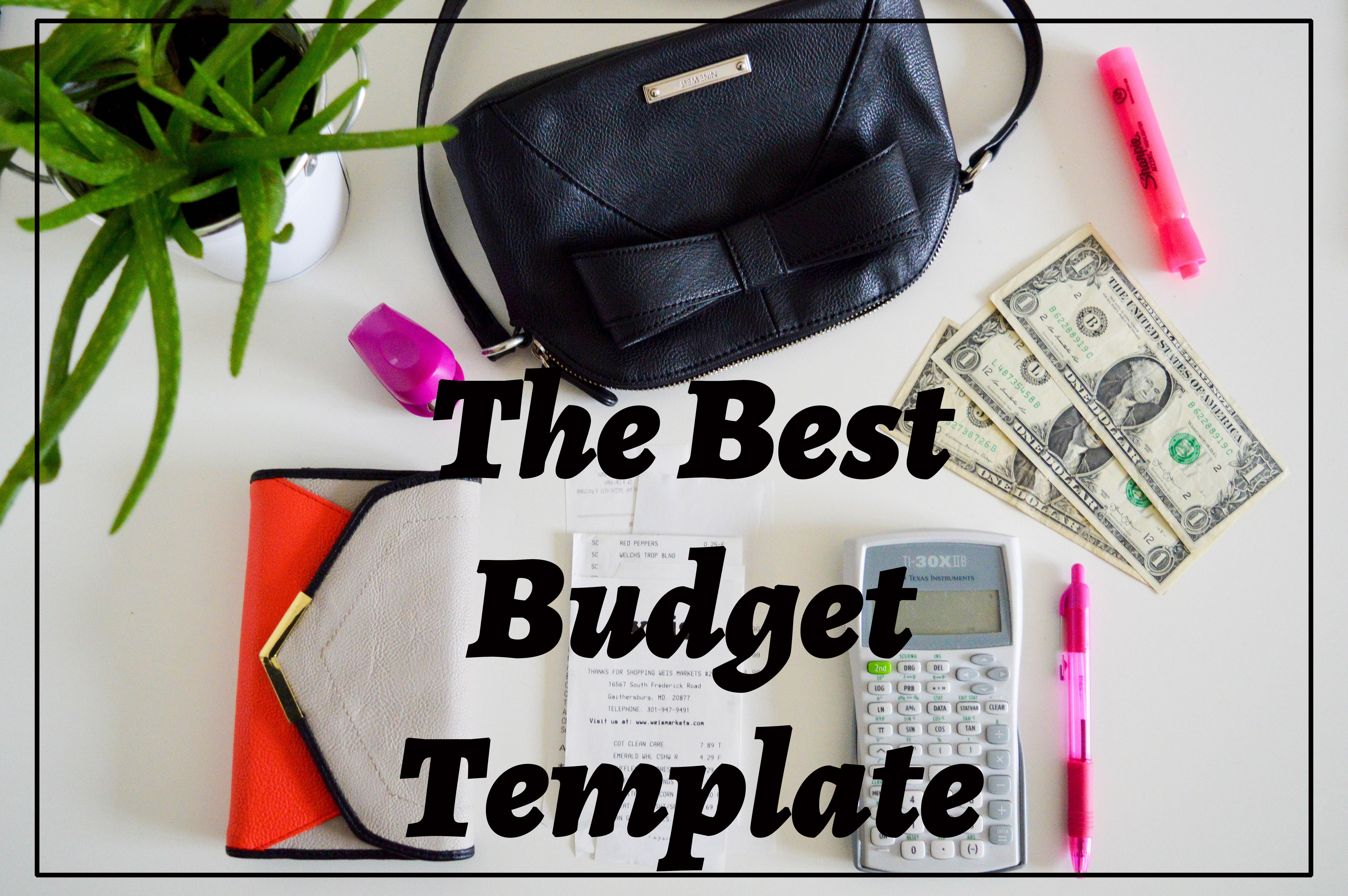 living on a budget and the budget template i use the o jays and