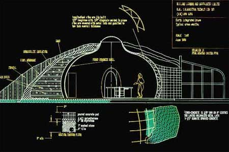 Underground home plans and designs natural security for Earth shelters designs