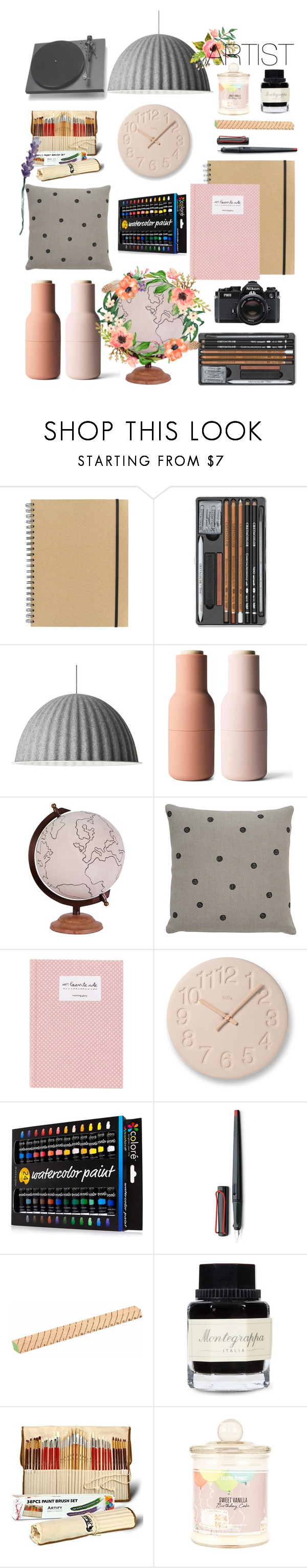 """Blue Moon - Al Bowlly 🎼"" by klmkarine on Polyvore featuring interior, interiors, interior design, home, home decor, interior decorating, Paperchase, Muuto, Menu and Jamie Young"