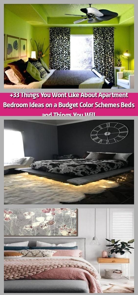 +33 Things You Won&t Like About Apartment Bedroom Ideas on a Budget Color Scheme...  +33 Things You Won&t Like About Apartment Bedroom Ideas on a Budget Color Scheme…  +33 Things You #Apartment #Bedroom #Budget #Color #Ideas #Scheme #Wont