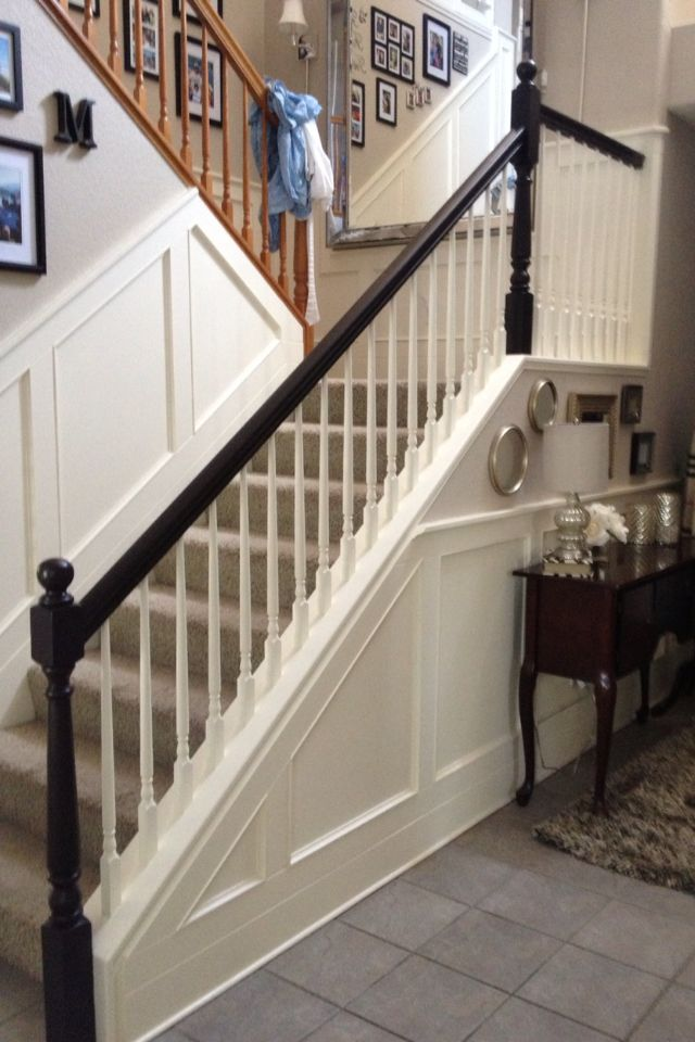 Best I Would Like To Refinish My Banister And Molding Why Did 640 x 480