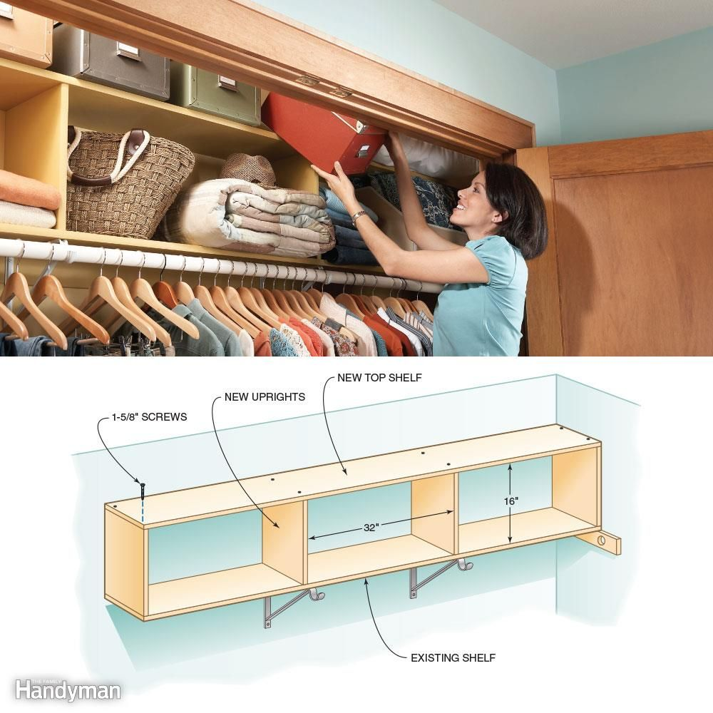 12 Simple Storage Solutions For Small Spaces Closet