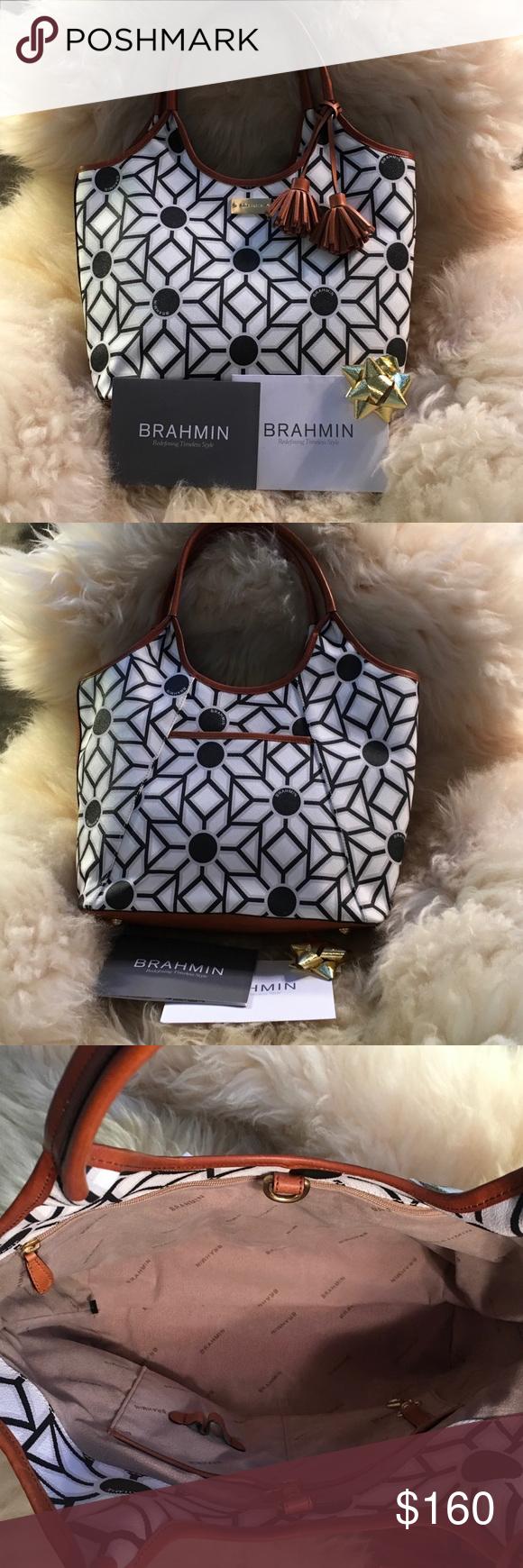 Spotted while shopping on Poshmark  BRAHMIN Leather KALEIDOSCOPE Bag. NWT!   poshmark   007b338a24