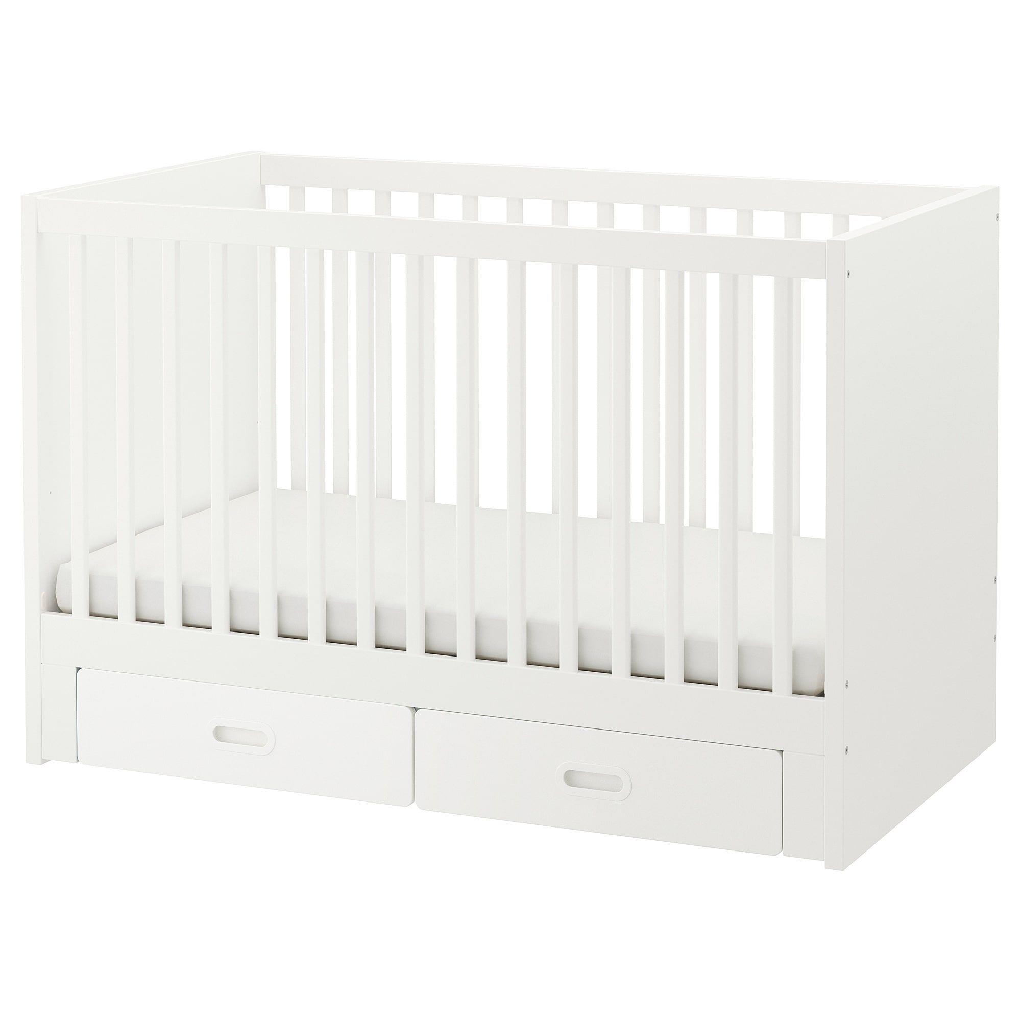 Stuva fritids crib with drawers ikea