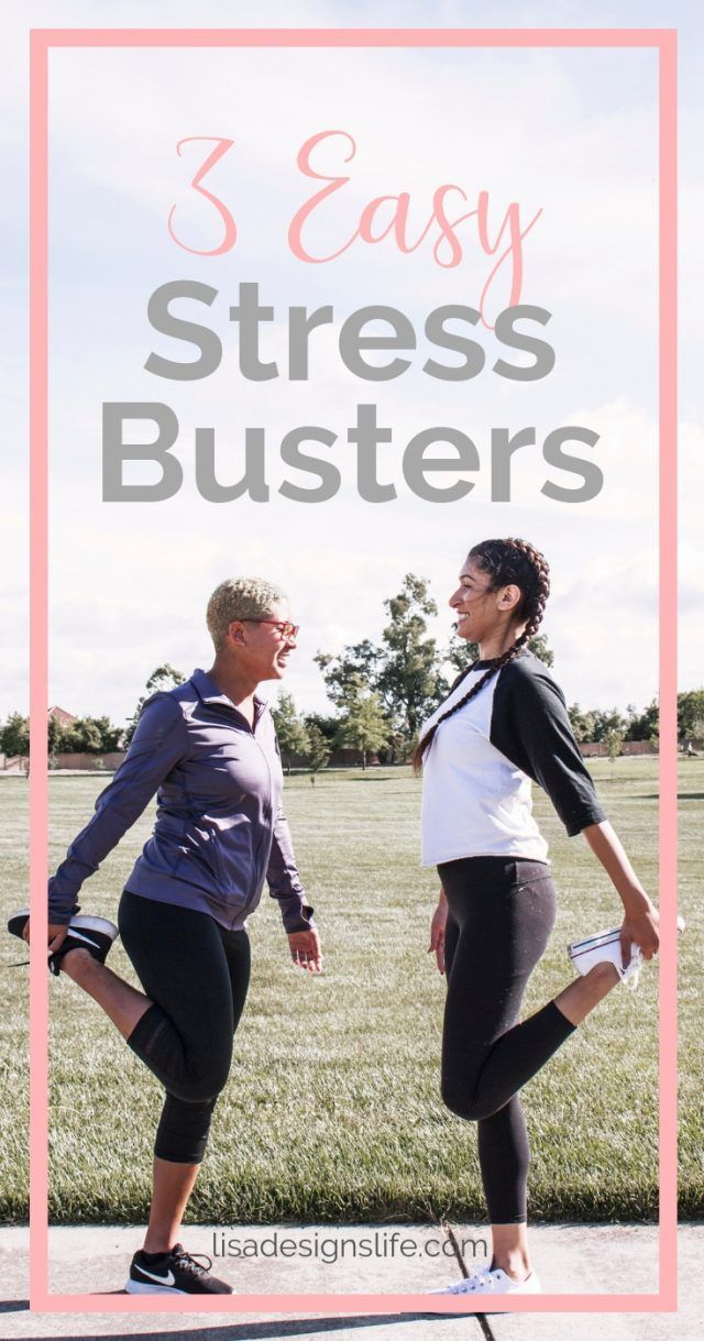 Top Three Stress Busters | Wellness, Physical and Mental ...