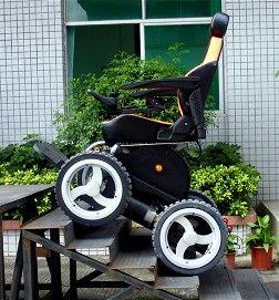 The Viking 4 X 4 All Terrain Power Wheelchair See it Believe