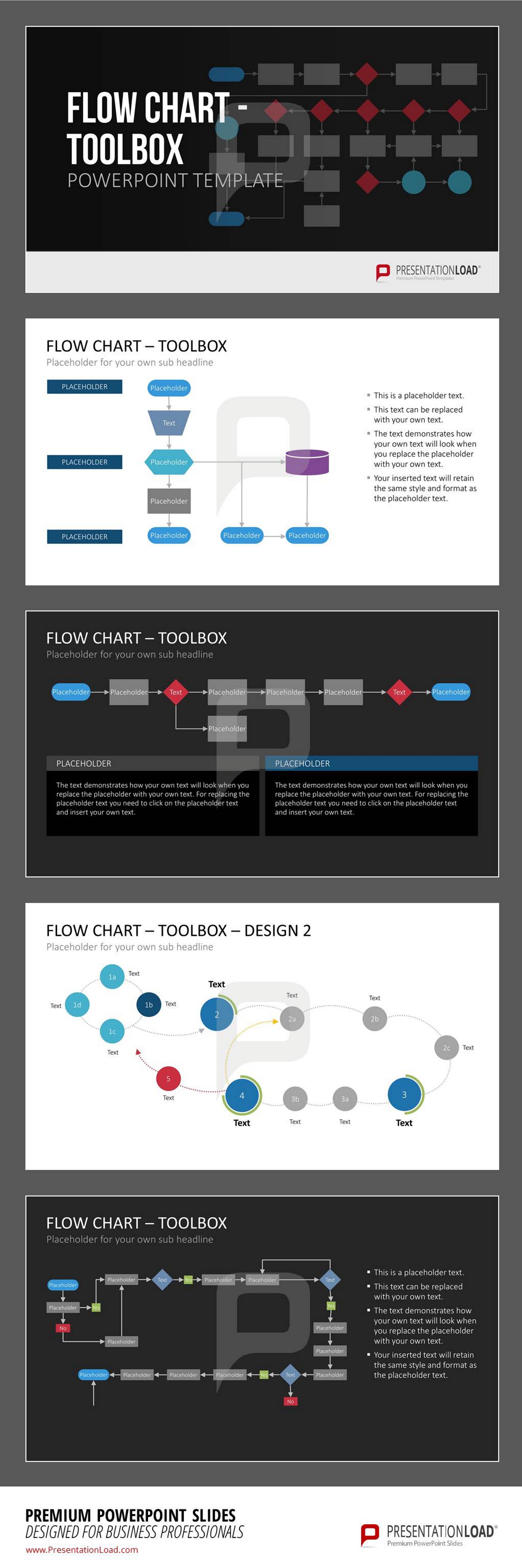 Pin von PowerPoint-Vorlagen auf FLOW CHARTS // POWERPOINT ...
