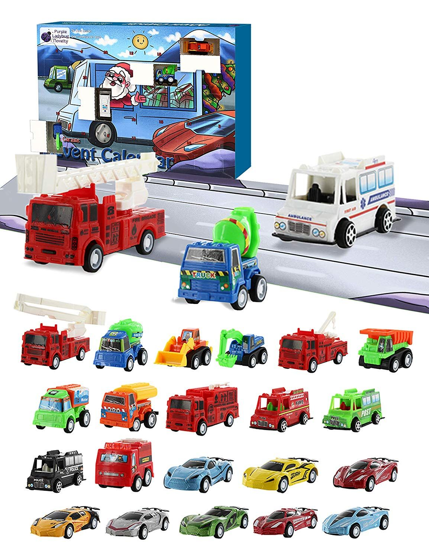Amazon Com Purple Ladybug Novelty Car Stocking Stuffer Toy Cars