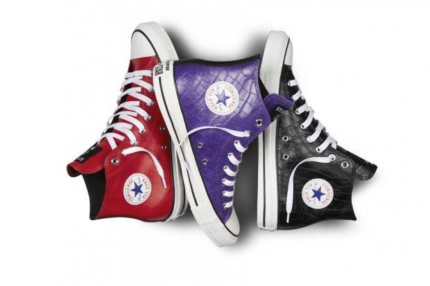 #Converse x #Stussy Chuck Taylor All Star Croc Skin #Sneakers