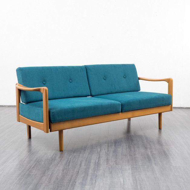 60er jahre sofa daybed ausziehbar erdgeschoss pinterest 60er jahre sofa und 60er. Black Bedroom Furniture Sets. Home Design Ideas