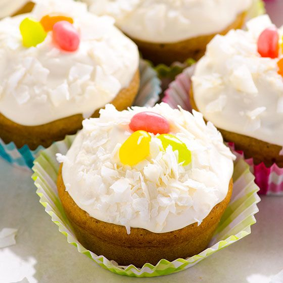 Healthy Vanilla Cupcakes Recipe With Whole Wheat Or Spelt