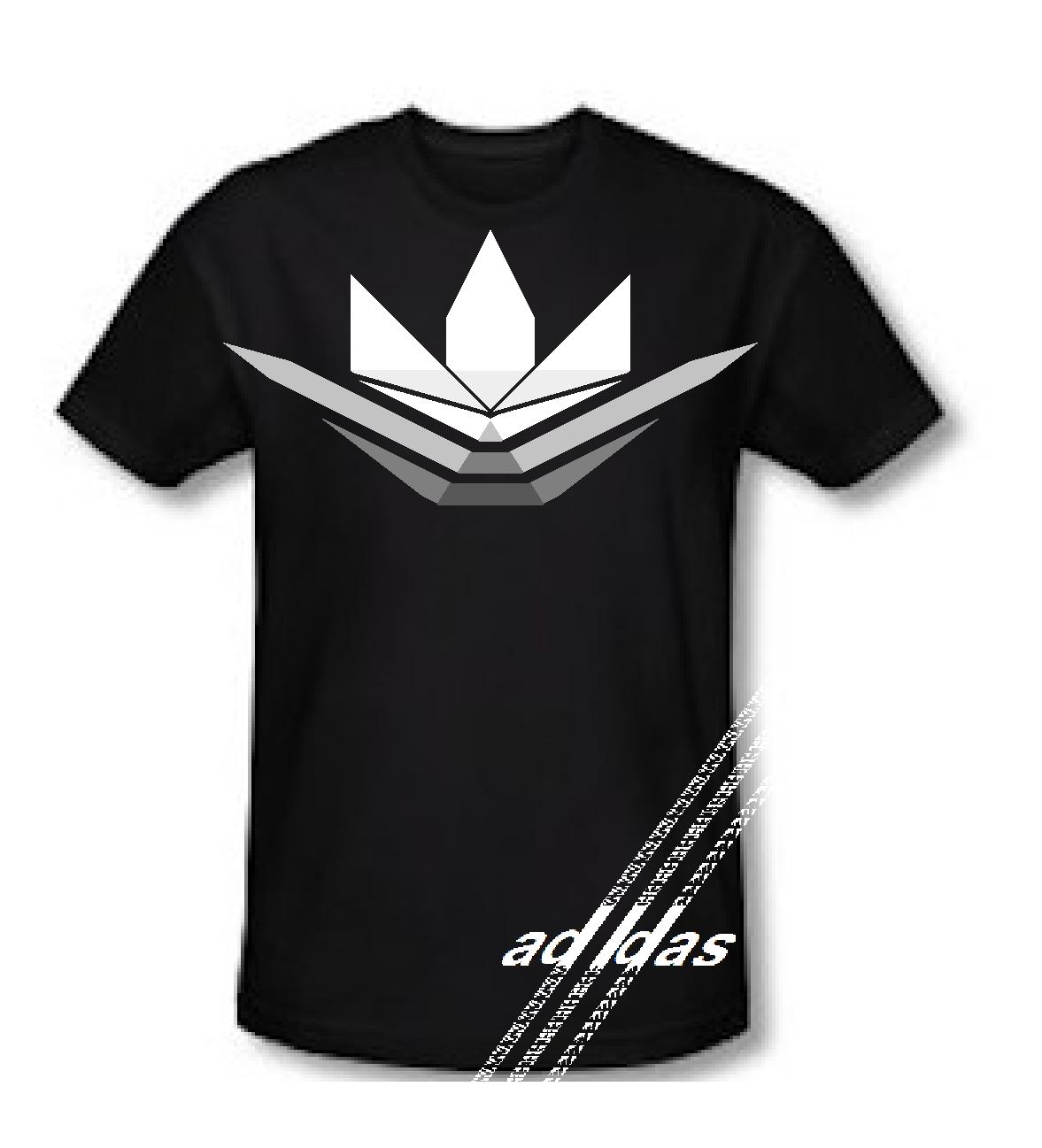 Zebra shirt design - Adidas New Logo Shirt Design