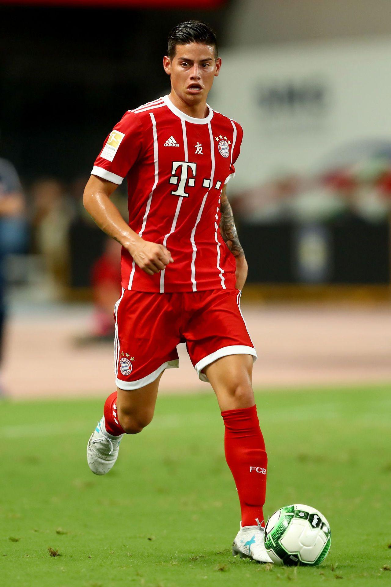 James Rodriguez Bayern Munich Player Pinterest
