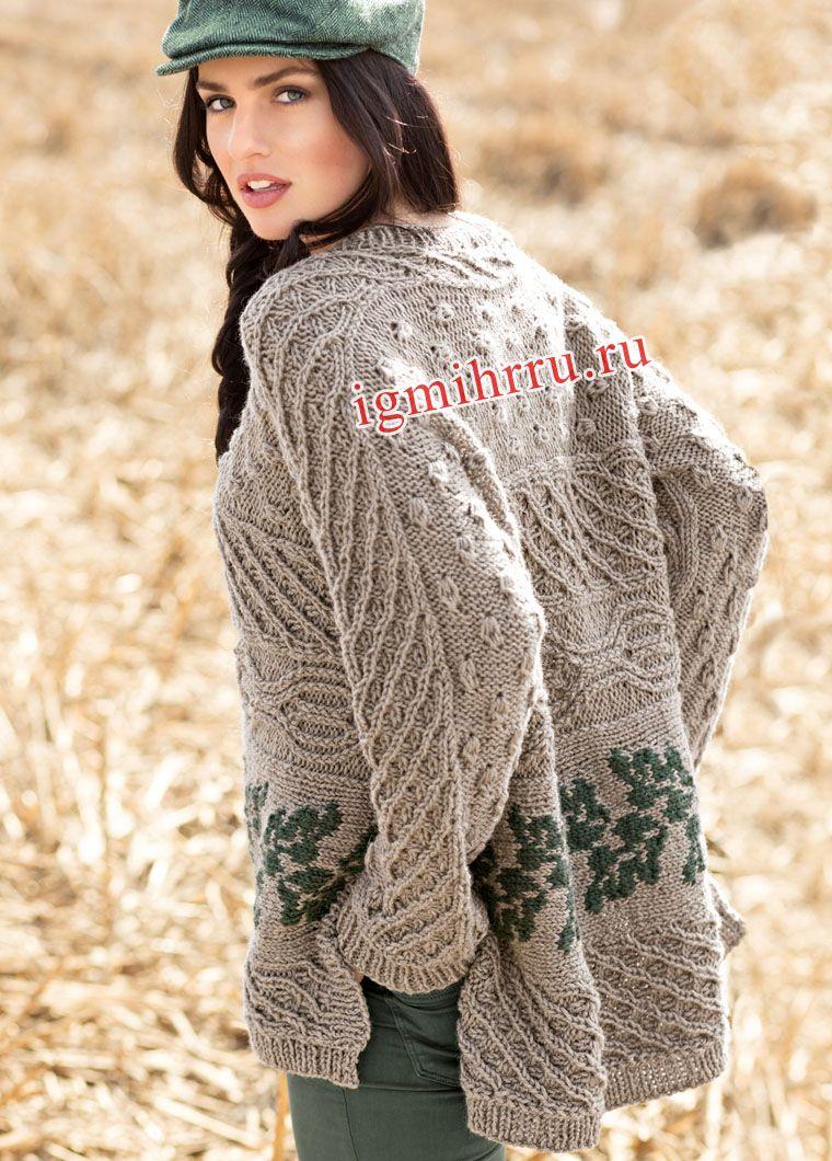 Вязание на спицах из п шерсти