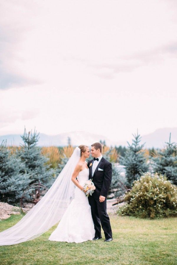 Vintage Mountain Wedding in Montana | Photo by Cluney Photo