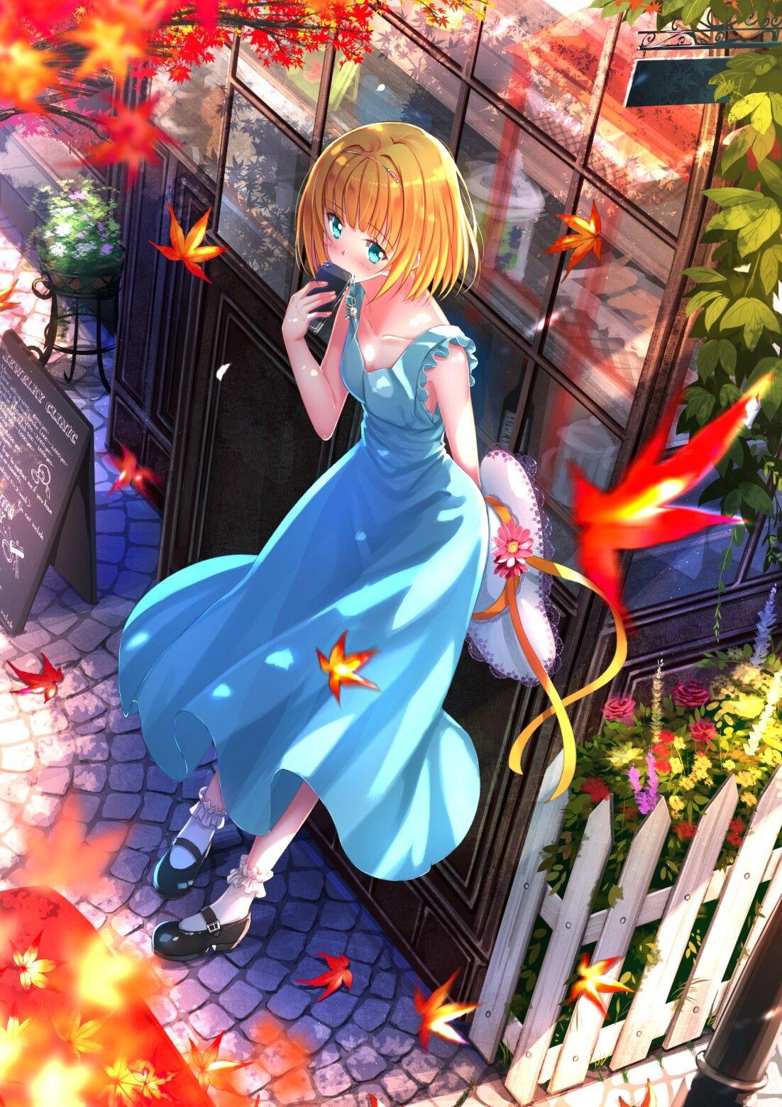 Ghim trên Anime girl art➿