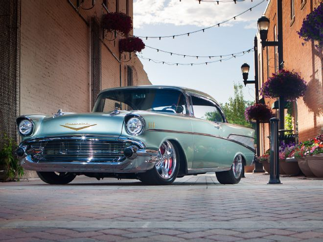 This 1957 Chevrolet Bel Air Is Tri Five Perfecta Chevrolet Bel Air 1957 Chevrolet Chevrolet Chevelle