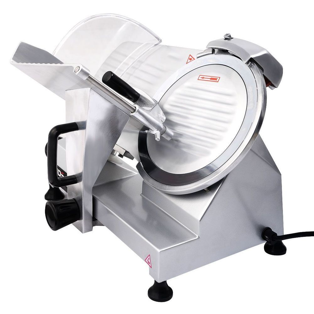 Blade Commercial Meat Slicer Deli Meat Cheese Food Slicer Industrial ...