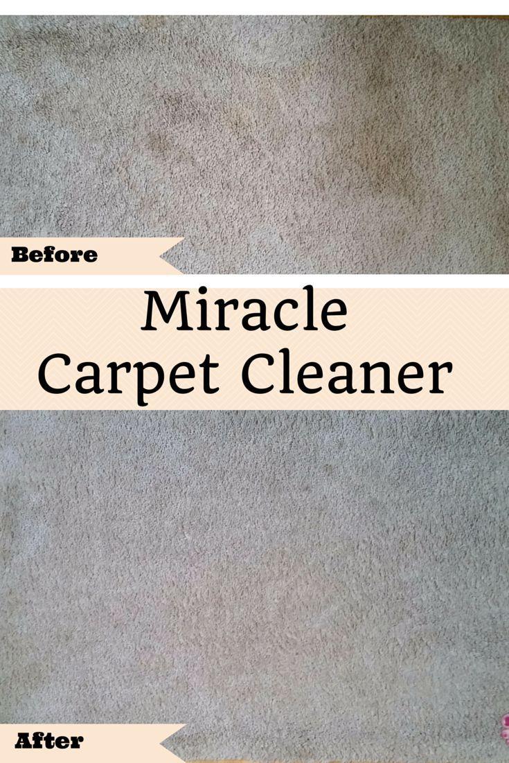 miracle carpet cleaner home hacks nettoyage produit nettoyage produit m nager. Black Bedroom Furniture Sets. Home Design Ideas