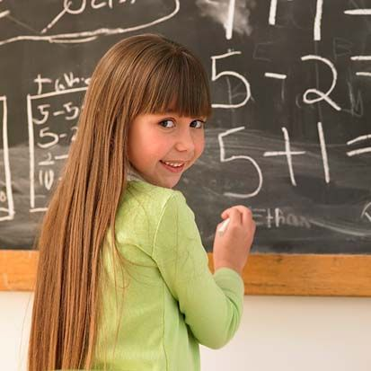 girl math | girl solving math