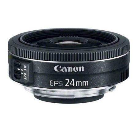 Canon Ef S 24mm F 2 8 Stm Lens Canon Lens Pancake Lens Camera Lenses Canon