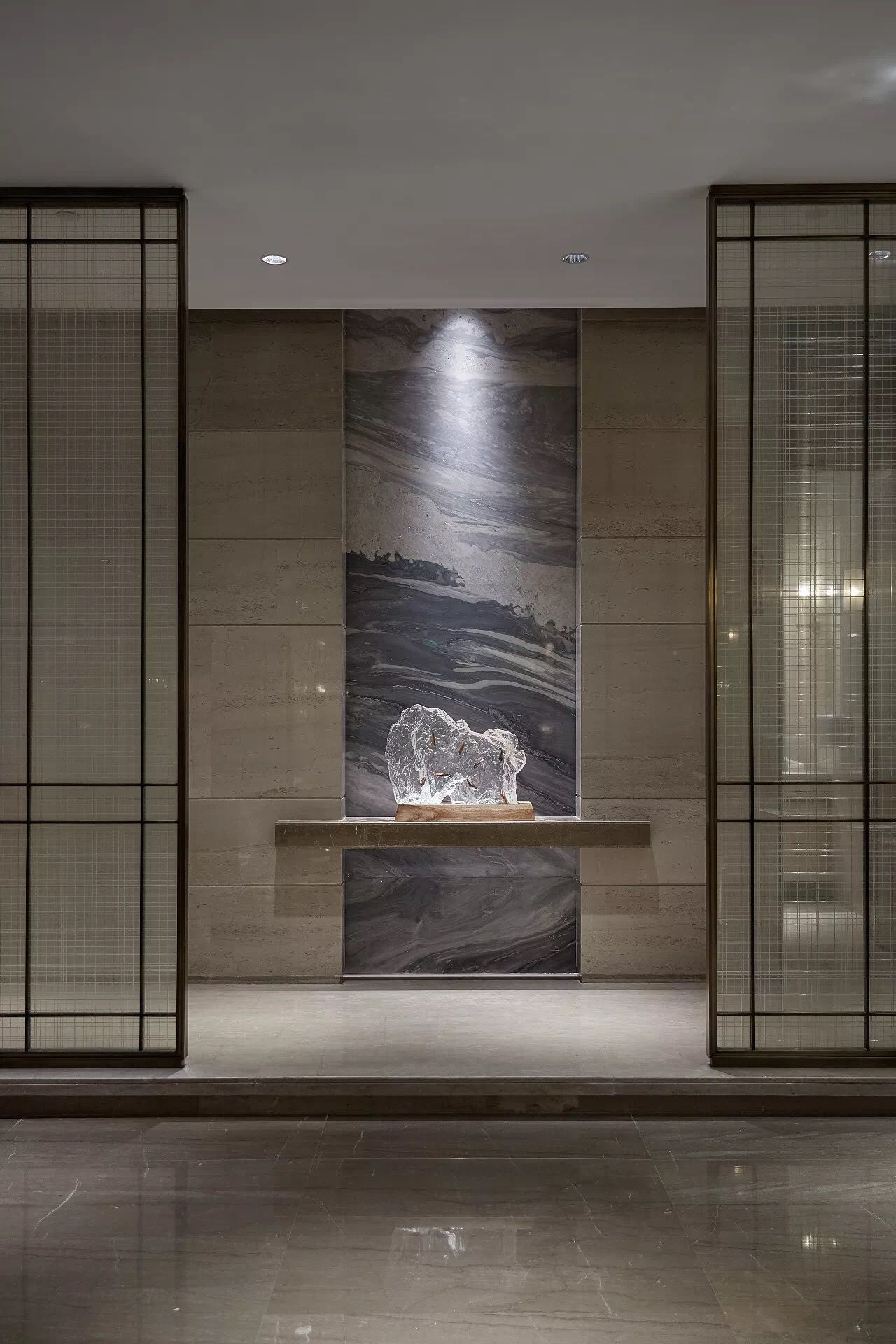 Pin By Xiao Ting On B玄关 Luxury House Interior Design Foyer Design Lobby Design