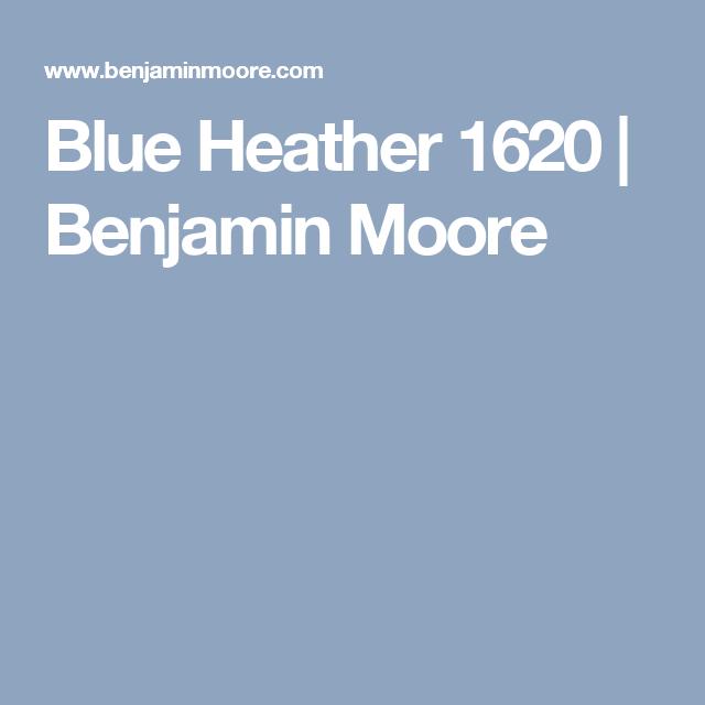 Blue Heather 1620 Benjamin Moore Benjamin Moore Benjamin Moore