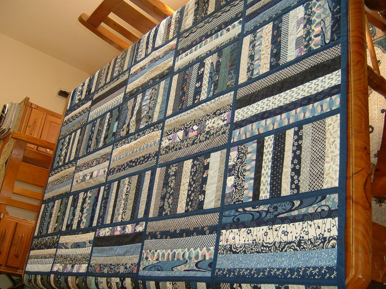 Japanese quilt as you go