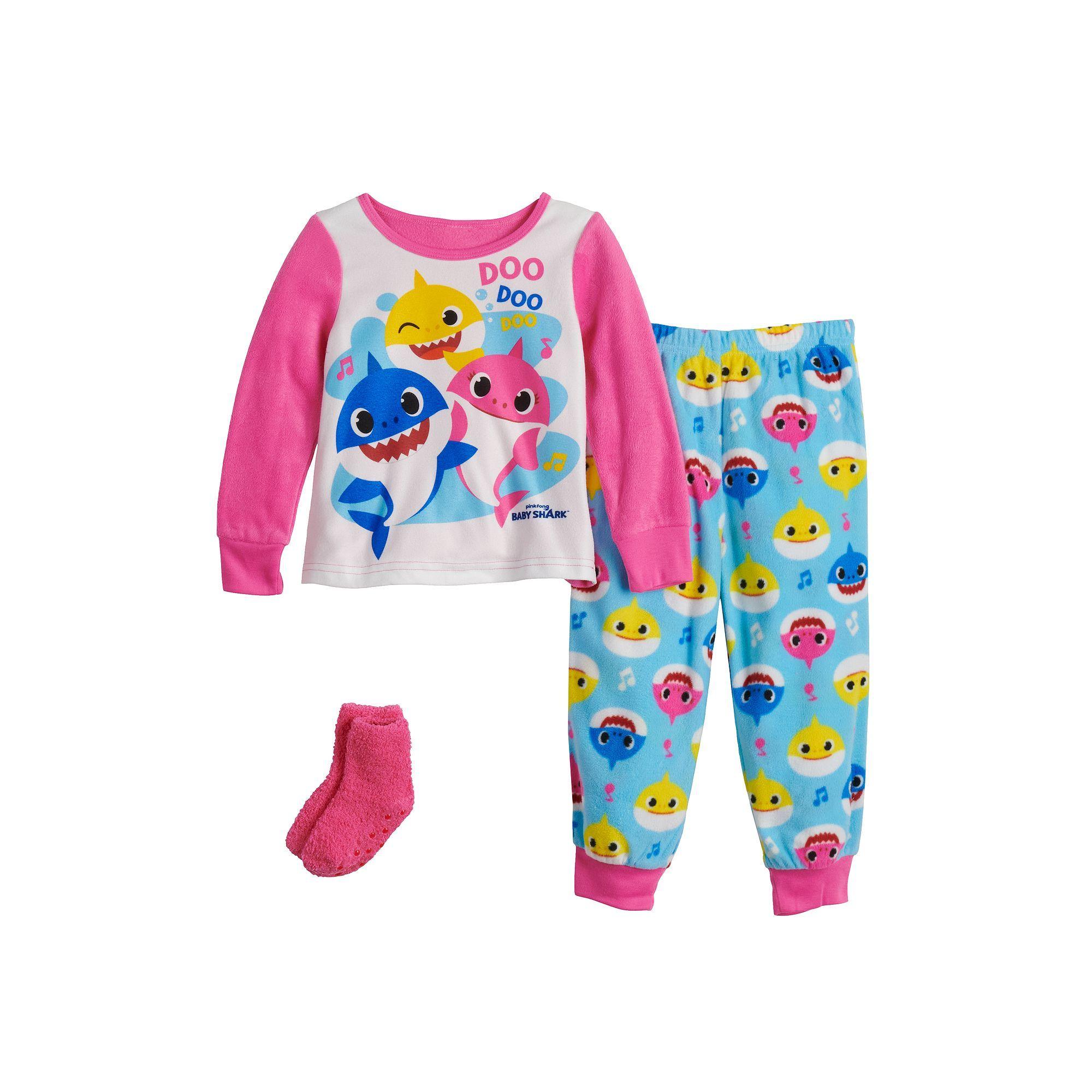 Baby Shark Boys 2-Piece Pajama Set