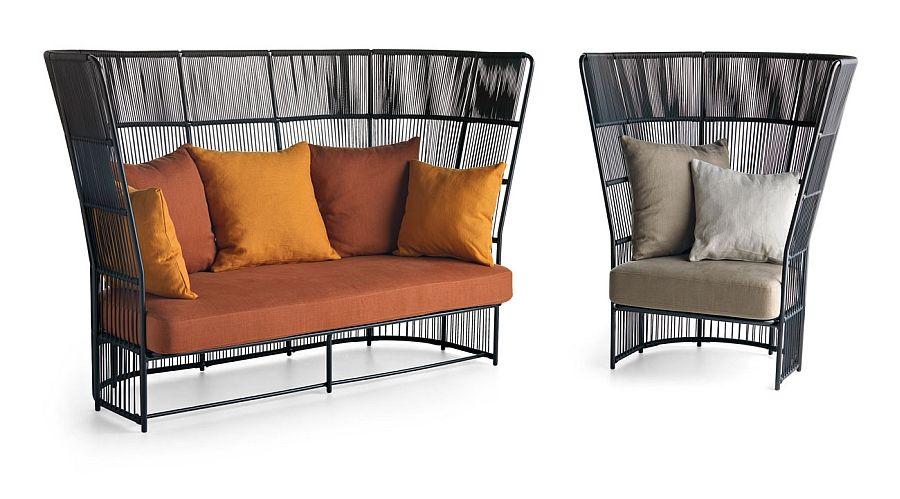 Comfy High Back Lounge Chairs Make A Bold Visual Statement   Decoist