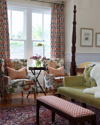 Sarah Richardson's Farmhouse. Hanging Curtains From The